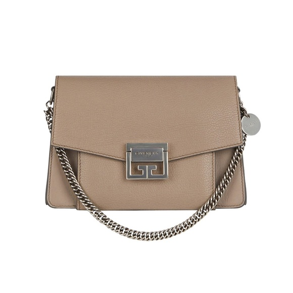 83a5bfd072 Givenchy Handbags - Givenchy Small GV3 Crossbody Bag in Taupe Leather